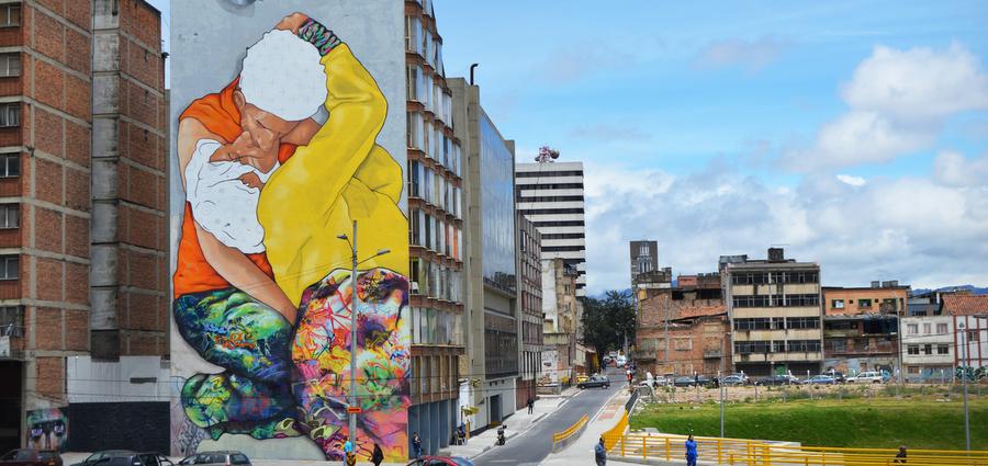Street Art en Colombie : couleurs, chaleur et revendications