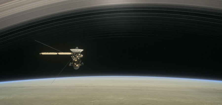 Cassini, le grand plongeon