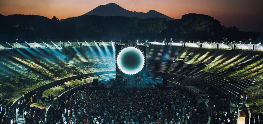David Gilmour à Pompeii et au Pathé Vaise