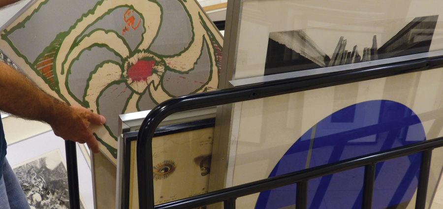 Changement de décor pour l'artothèque municipale de Grenoble