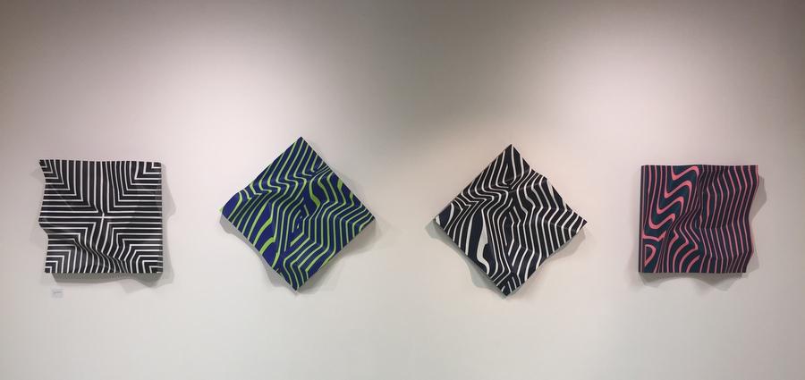 Géométrie européenne à la Biennale internationale d'art non objectif