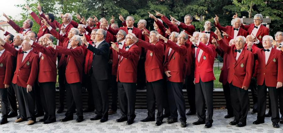 Les Amis Réunis : Le chœur des hommes