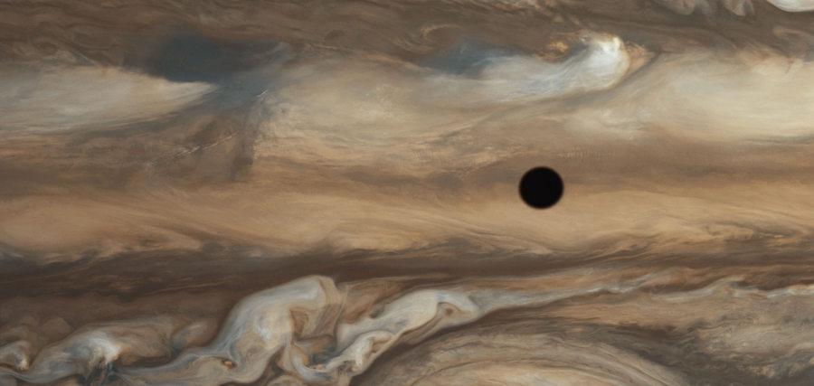 Jupiter : surface agitée ressurgi du passé