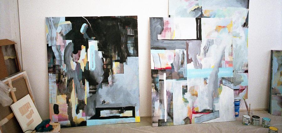 Nelio, de graffeur à peintre