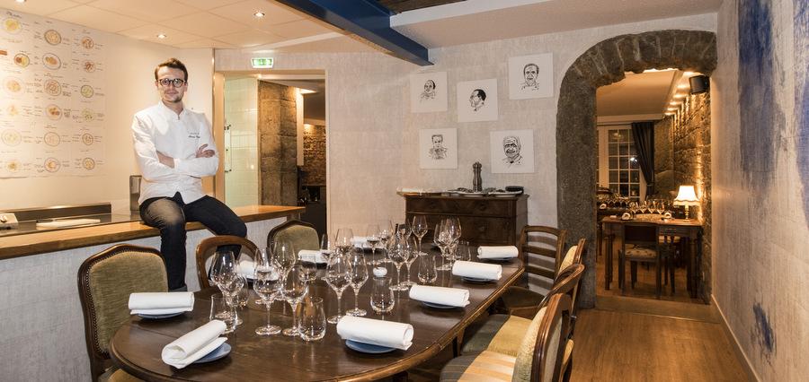 Monsieur P. : la cuisine apaisante de Florent Poulard