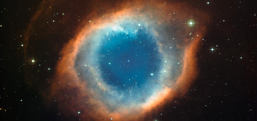 Hélix, vestiges d'une étoile