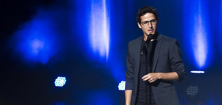 Haroun : « L'humour ne doit pas vexer »