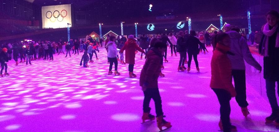 Et le Palais des sports de Grenoble se mit en mode Jeux olympiques
