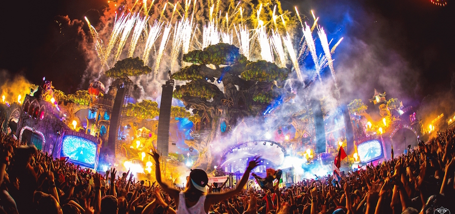 Wauquiez s'extasie pour Tomorrowland