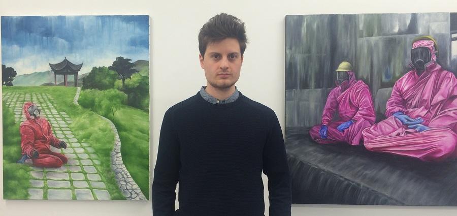 Raphaël Bouyer : « J'aime l'idée de percuter directement le spectateur »