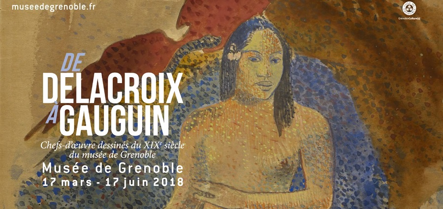 Teaser Musée de Grenoble - De Delacroix à Gauguin