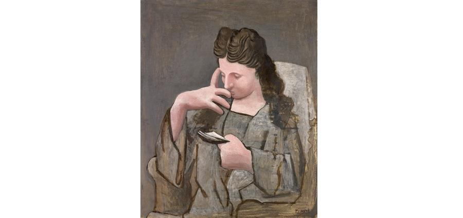 Femme lisant – Pablo Picasso