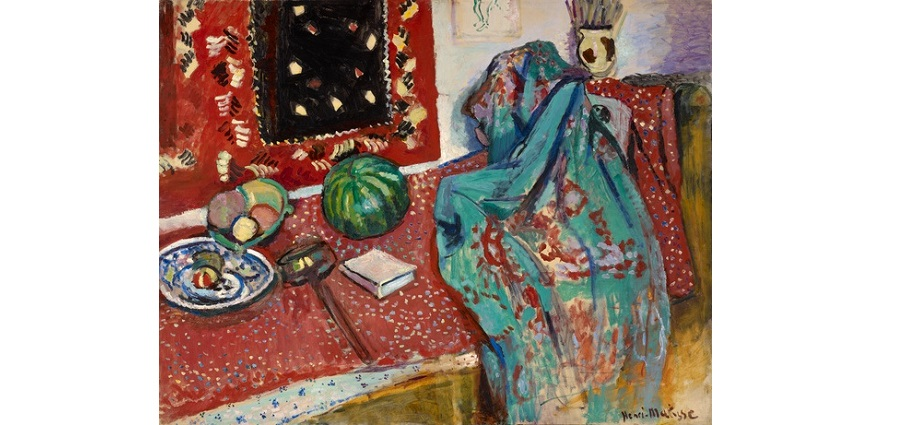 Les Tapis rouges - Henri Matisse