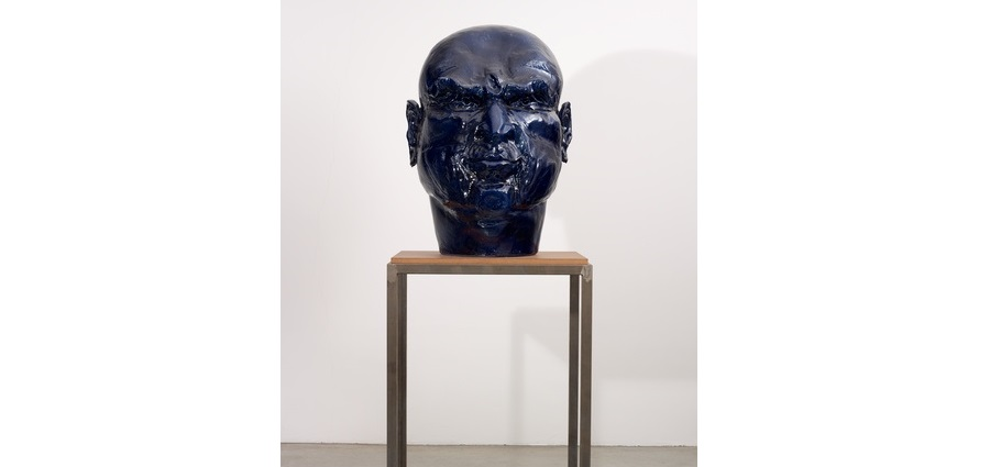 Untitled (tête bleue) – Thomas Schütte