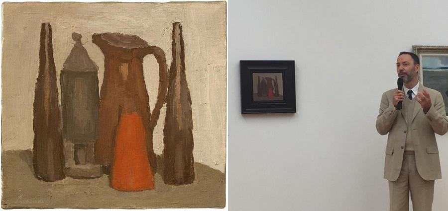 Le Musée de Grenobles'offre un Morandi à 1.1 million