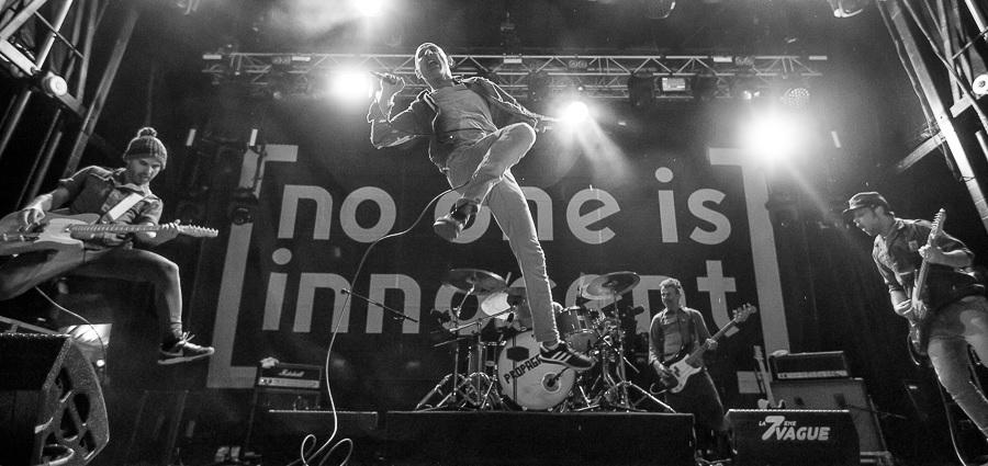 No One Is Innocent: «Tous les ingrédients pour prendre du plaisir sur scène»