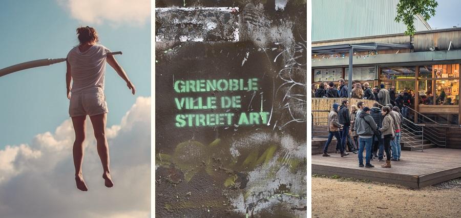 Quand Grenoble s'anime avec les beaux jours