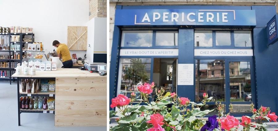 L'Apéricerie : une petite épicerie de l'apéro à Grenoble