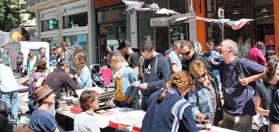 Microsaloon: quand la microédition tient salon en pleine rue