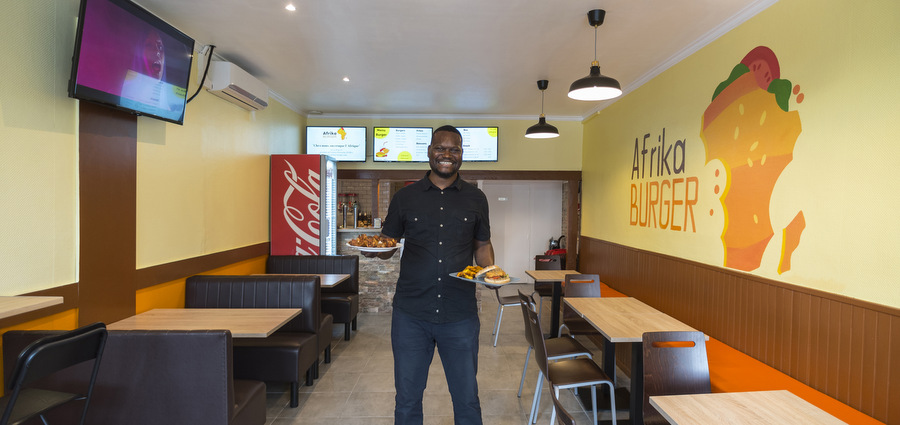 Afrika Burger, le fast good qui requinque