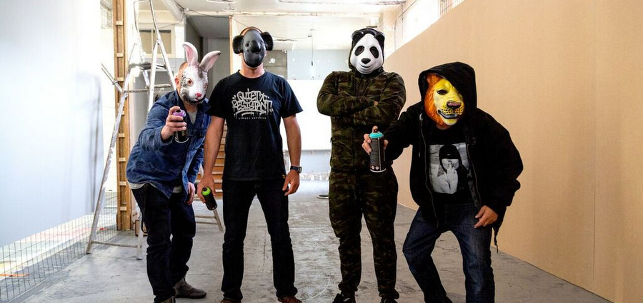 Zoo : le graffiti lyonnais prend de la hauteur