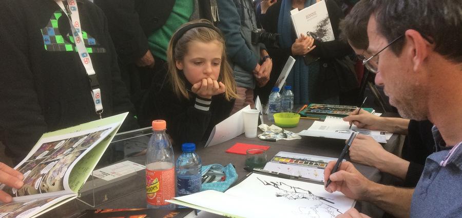 La BD aux portes du palais avec le Grenoble BD festival