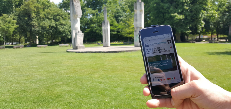 Grenoble-patrimoine.fr ou comment « rencontrer l'art dans son trajet quotidien »