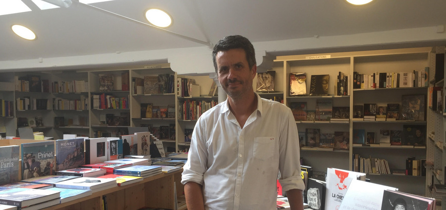 Nicolas Trigeassou : à livre ouvert