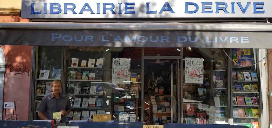 La librairie La Dérive ouvre son quarantième chapitre