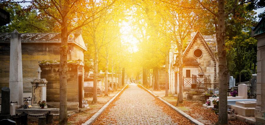 Au beau milieu des morts
