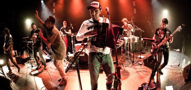 Le rythme endiablé de Kumbia Boruka