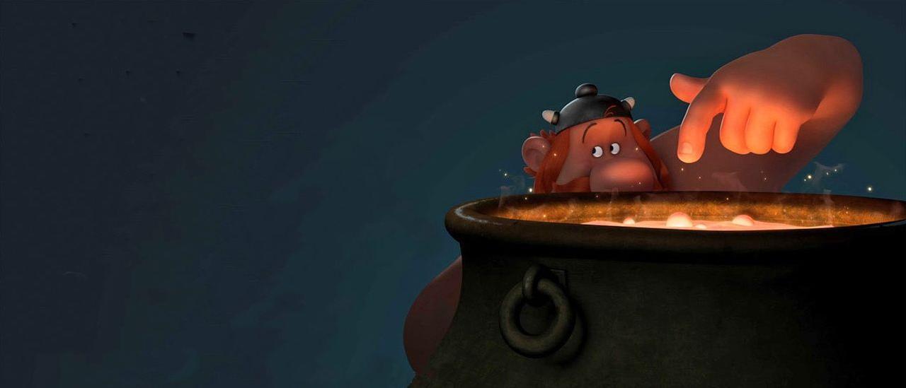 Astérix - Le Secret de la potion magique, en présence d'Alexandre Astier et Louis Clichy