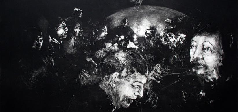 Plongée dans le noir avec la Galerie Céline Moine
