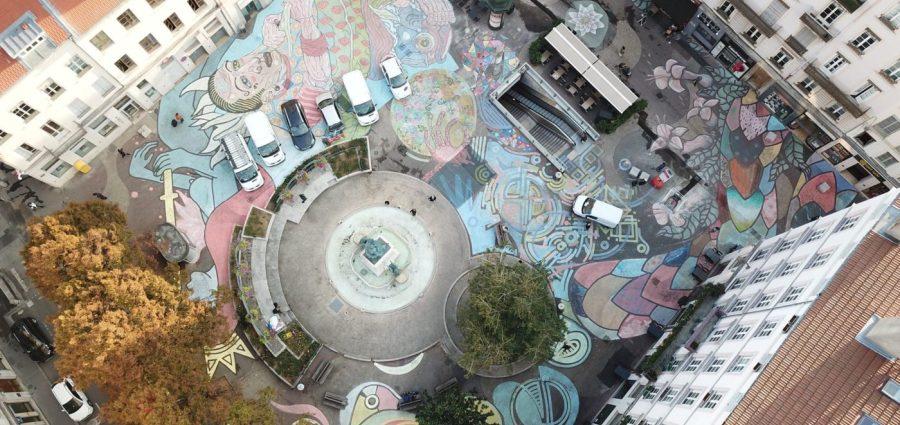 Street art : cuvée d'automne