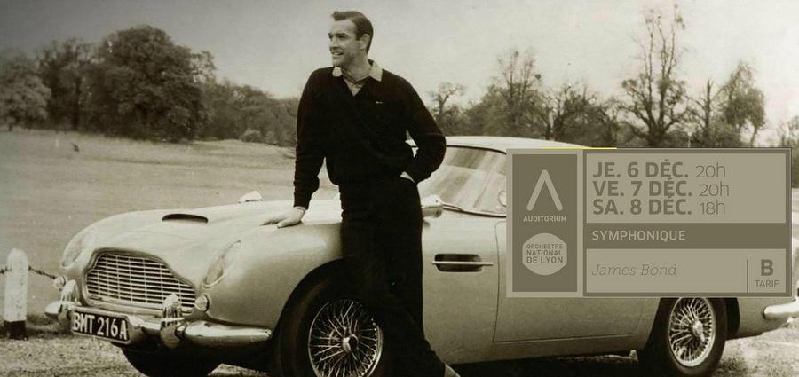 Rien que pour vos oreilles : James Bond à l'Auditorium