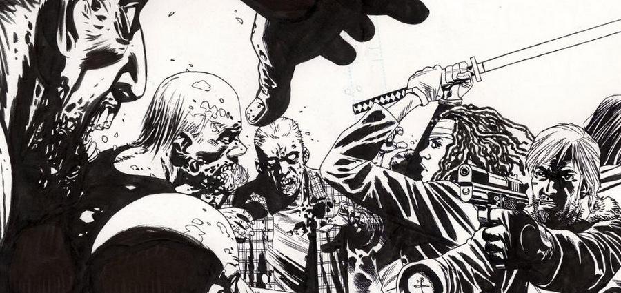 Charlie Adlard, dessinateur de Walking Dead, invité au Lyon BD Festival