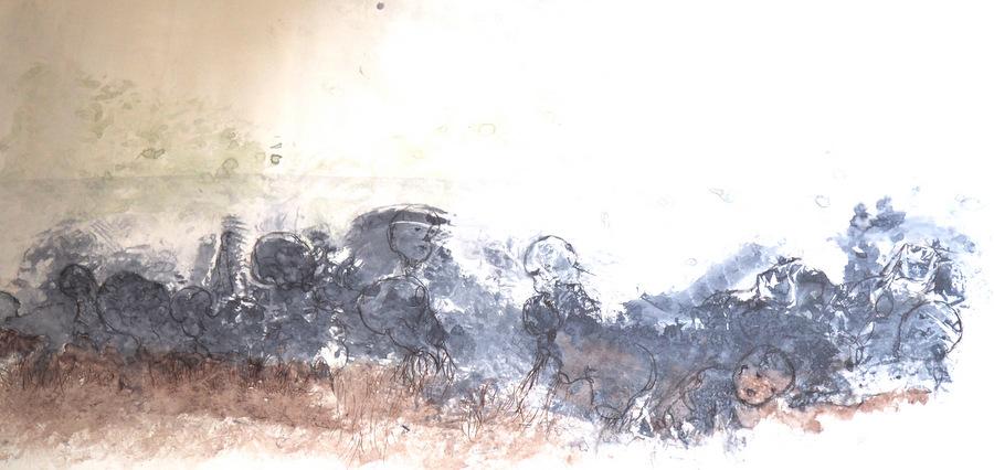 Ines Barquero à corps perdu à la galerie Alter-Art