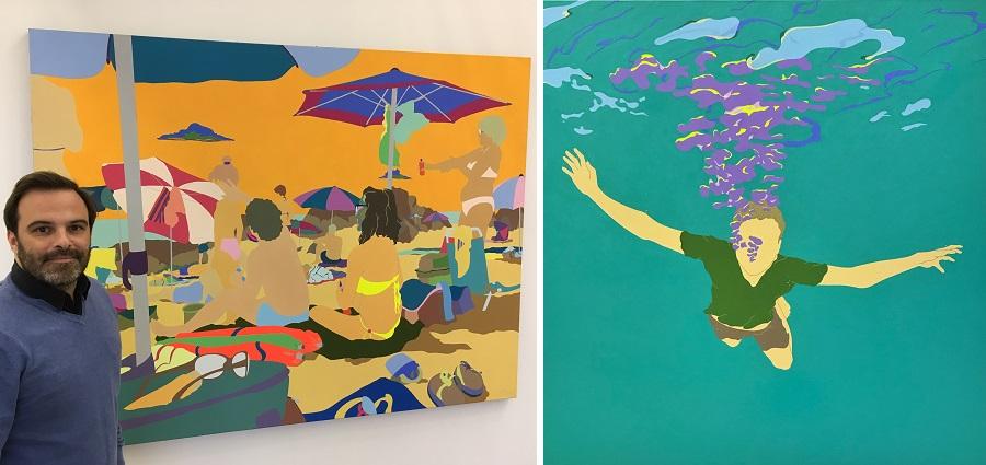 Thibault Laget-ro : « Je veux parler de mon temps, avec les moyens que j'ai : la peinture »