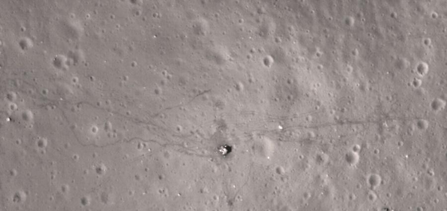 LRO sur les traces d'Apollo 17