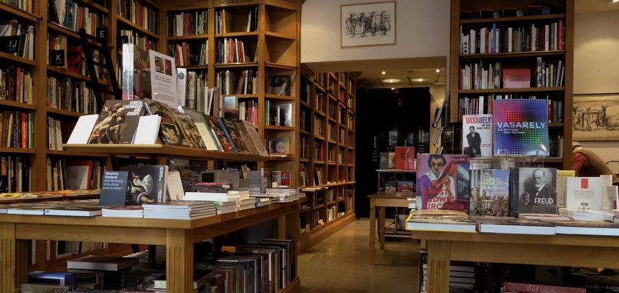 Une librairie d'art au cœur de la cité