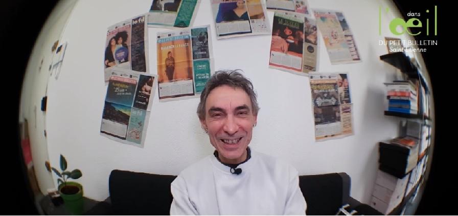 Etienne Delesse dans l'Oeil du Petit Bulletin #06