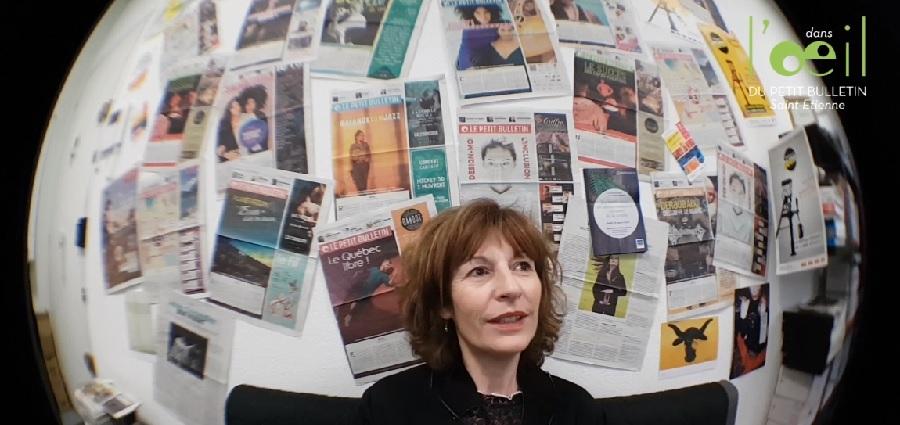 Fabienne Couvreur dans l'Oeil du Petit Bulletin #14