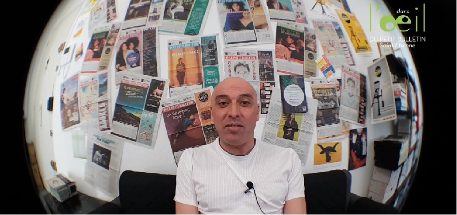 Mustapha Kerroua dans l'Oeil du Petit Bulletin #15