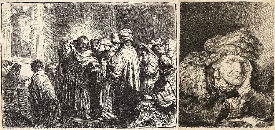 Cabinet Rembrandt : un petit cabinet pour un grand maître