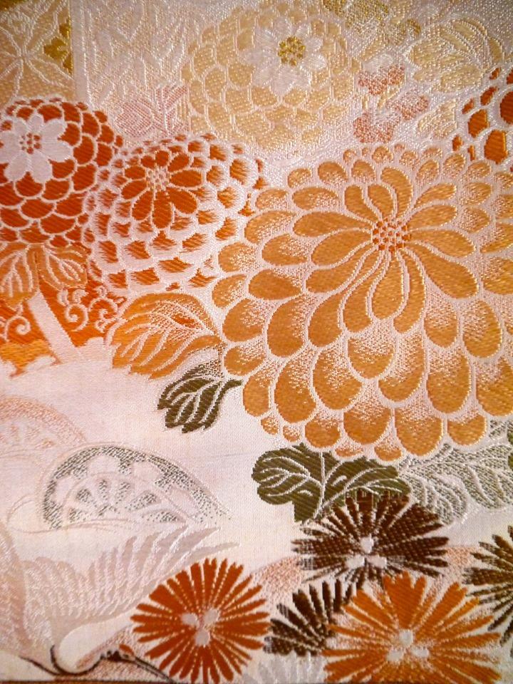 La beauté en soie