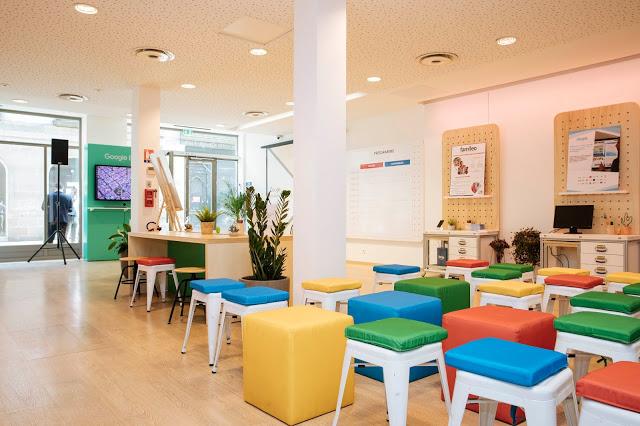 Un Atelier Numérique Google à Saint-Étienne