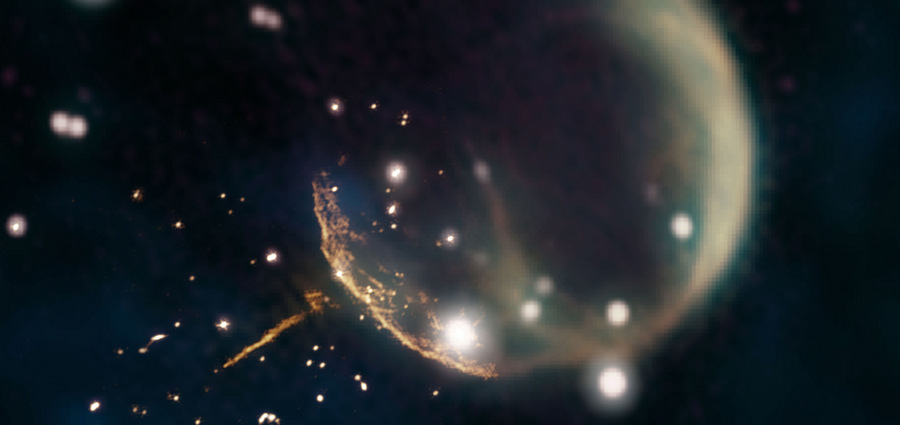 Le pulsar éjecté