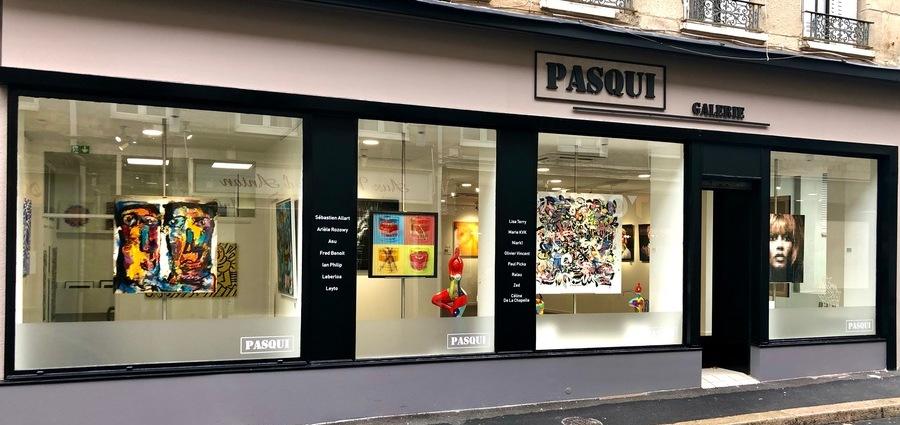 La galerie Pasqui a ouvert ses portes
