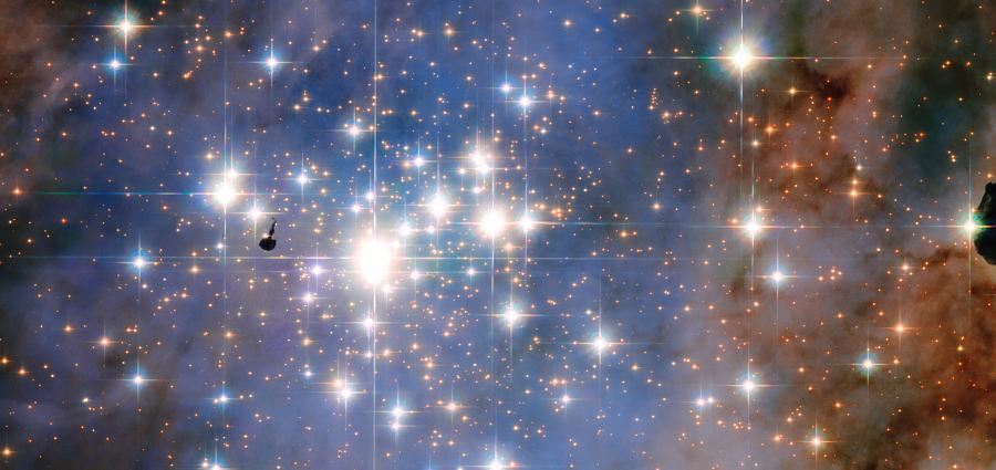 Les étoiles les plus lumineuses de notre Galaxie