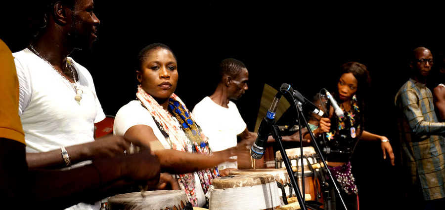 Mark Ernestus' Ndagga Rhythm Force : le mbalax vers l'abstraction